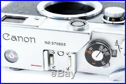Canon VL2 VLII Rangefinder Film Camera Leica Screw Mount From Japan Exc+++++