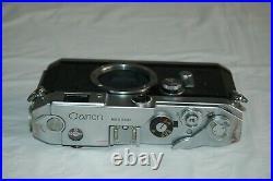 Canon-VL2 Vintage 1956 Japanese Rangefinder Camera. Serviced. No. 515087. UK Sale
