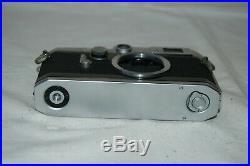 Canon-VL2 Vintage 1958 Japanese Rangefinder Camera. Serviced. No. 527849. UK Sale