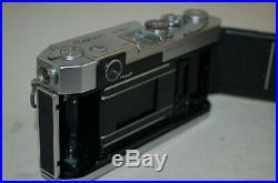 Canon-VL2 Vintage 1958 Japanese Rangefinder Camera. Serviced. No. 578421. UK Sale