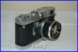 Canon-VT RARE Vintage 1956 Japanese Rangefinder Camera. Service. 516038. UK Sale
