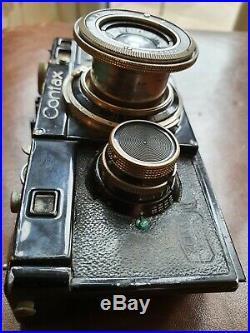 Carl Zeiss Jenna Contax Rangefinder Camera
