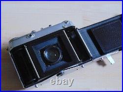 Certo Six Fotokamera mit Carl Zeiss Jena Tessar 12,8/80mm 6x6 Mit Tasche