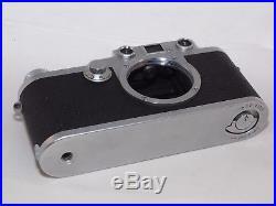 Classic VINTAGE Leica IIIF RD 35mm film rangefinder camera. Leica M39 lenses