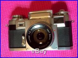 Clean Vintage Contax IIIa Rangefinder Camera Sonnar 50mm F2