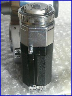 Contarex 1 (Bullseye) Silber ausgezeichneter Zustand siehe Beschreibung