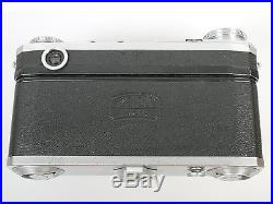 Contax II Nr. K. 54723 mit Zeiss Jena Sonnar 1,5/5cm Nr. 2519542 unvergütet