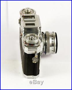 Contax III avec Carl Zeiss Sonnar 1,5 50 mm