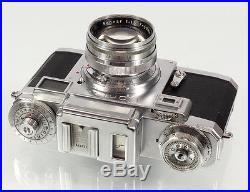 Contax IIIa mit zeiss Opton Sonnar 1,5/50mm mit Tasche