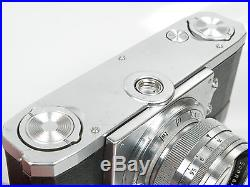 Contax IIa color dial Nr. A 48640 mit Zeiss Opton Sonnar 1,5/50 T Nr. 90398
