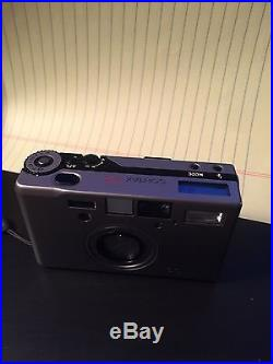 Contax T3 rangefinder camera with Zeiss Sonnar 2.8/35mm lens Mint