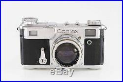 Contax mit Carl Zeiss Sonnar 1,5 5cm red T 84785