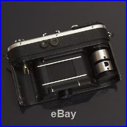 Corfield Periflex Gold Star Vintage 35mm Film CAMERA ISCO Lumax 50mm 2.8 Lens VG