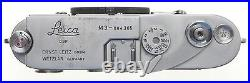 DOUBLE STROKE LEICA M3 VINTAGE LEITZ 35mm RANGE FINDER CAMERA BODY ORIGINAL SEAL