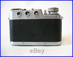 Diax Ia camera withSchneider Xenon 2/50 lens in Synchro-Compur shutter