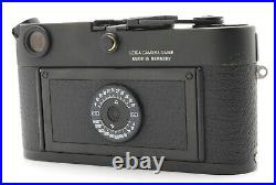 EXC+5 withCase LEICA Leitz M6 0.72 Non TTL Black Rangefinder Film Camera Japan