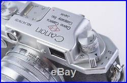 EXC+++ CANON IV-Sb RANGEFINDER with50mm f1.8 RIGID LTM39 MOUNT, CASE, STUNNING