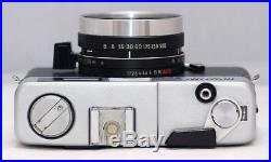 EXC++ Minolta Hi-Matic 7S II 35mm Rangefinder Camera, NEW SEALS, CLA, UV Filter