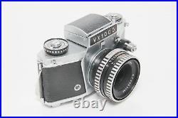 Exakta VX1000 Kamera Camera mit Schacht Jena 50mm 12.8 Objektiv Lens #182