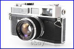 Exc. CANON MODEL 7 35mm Rangefinder Camera with 50mm f/1.8 L39 MF Lens 832716