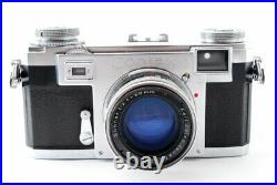Exc++ Zeiss Ikon Contax IIa 35mm Rangefinder Camera with Sonnar T 5cm f/2 Lens