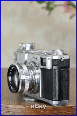 Excellent! 1937 Zeiss Ikon Contax II, CLA'd, Freshly Service