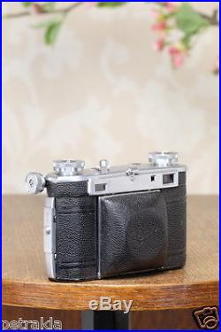 Excellent! 1938 35mm Certo Super Dollina Rangefinder camera, FRESHLY SERVICED