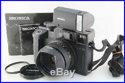 Excellent++ BRONICA RF645 Rangefinder camera with 65mm F4 lens
