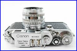 Excellent++ Canon IV Sb 4Sb Rangefinder camera with 50mm f/1.8 from Japan