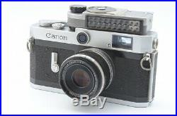 Excellent Canon P 35mm Rangefinder Film Camera w / 50mm f/2.8 Lens kit #779