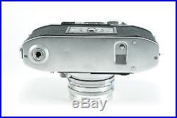 Excellent Condition Minolta Super A 35mm Rangefinder Kit with 3 Lenses