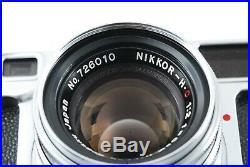 Excellent+++ Nikon S2 Rangefinder Film Camera with Nikkor S. C 50mm 5cm f/2 #65