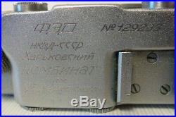 FED-S Russian Rangefinder camera copy LEICA 35mm fast lens 2.0/50mm Manual