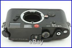 FEDEX MINTLEICA M6 CLASSIC 0.72 NON TTL BLACK RANGEFINDER Film Camera Japan
