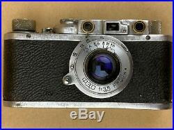 FEDKA fed-1 (A) Soviet 1930s Vintage Camera with 50mm f/3.5 lens #3667 Very Rare