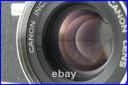 FedEx EXC+3Canon Canonet QL17 GIII Rangefinder Film Camera From Japan #055