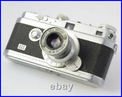 Foca 35mm Rangefinder French Camera with Oplar 3.5/50mm 3.5/90mm and Macro Set