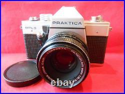 Fotokamera PRAKTICA MTL 3 Objektiv Carl Zeiss Jena DDR Pancolar auto 1,8/50 MC