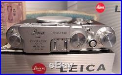 GORGEOUS Leica IIIg Leitz 3g Rangefinder Camera Body PERFECTLY WORKING
