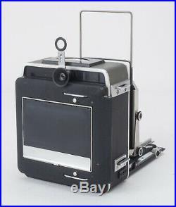 Graflex SUPER GRAPHIC 4x5 camera in ORIG BOX with127mm Ektar lens -SUPER CLEAN