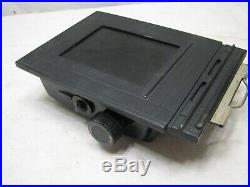 Graflex Speed Graphic Graphex 3-1/4 X 4-1/4 Camera Rangefinder Flash Saber Case