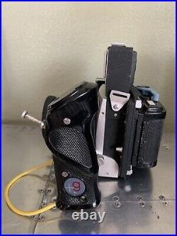 Graflex XL Rangefinder Camera With 80mm 2.8 Carl Zeiss Planar Lens