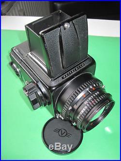 Hasselblad 500 C/M mit 3 Zeiss Objektive + Zubehör