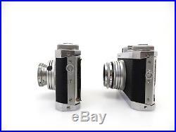 INA Werk Navax Nr 999 Nr 297 Finetar 45 F2,8 Isco Westron 35 F3,5 jb041