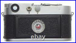 Just Serviced Well Used M3 Work Horse Leica Camera Ready To Work Again Leitz
