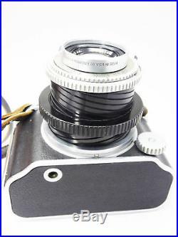 KODAK MEDALIST I camera WW2 COATED EKTAR lens MF 6x9 5015