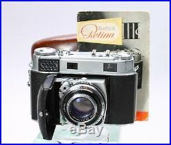 KODAK RETINA IIIC 35MM RANGEFINDER FILM CAMERA With SCHNEIDER XENON 50MM F/2 LENS