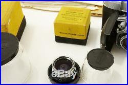 KODAK RETINA IIIC + Many accessoires