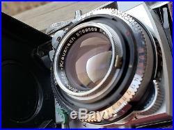 KODAK RETINA IIIC big C CAMERA SCHNEIDER-KRUEZNACH 50mm F/2 LENS Works Great