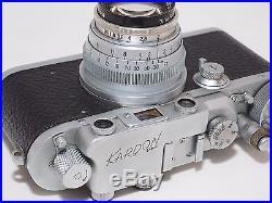 Kardon Military US Army Signal Corps 35mm rangefinder camera. Ektar 47mm f2 lens